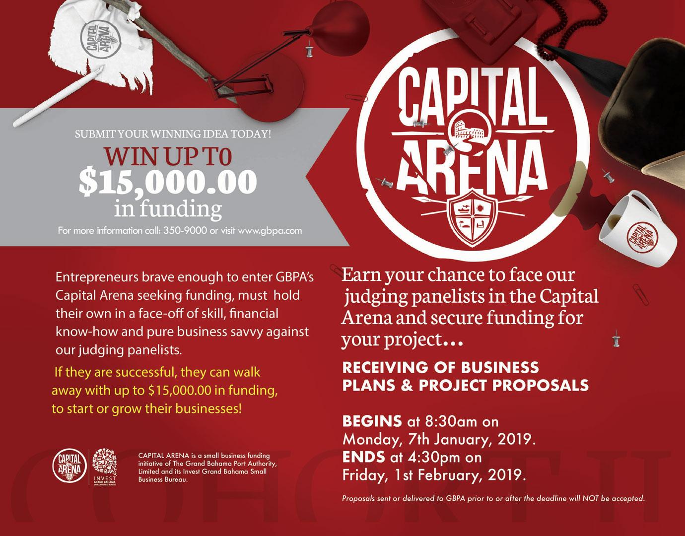 Capital Arena - Cohort II