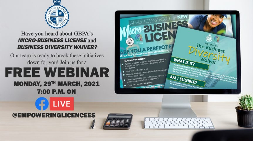 Free Micro-Business License & Business Diversity Waiver Webinar